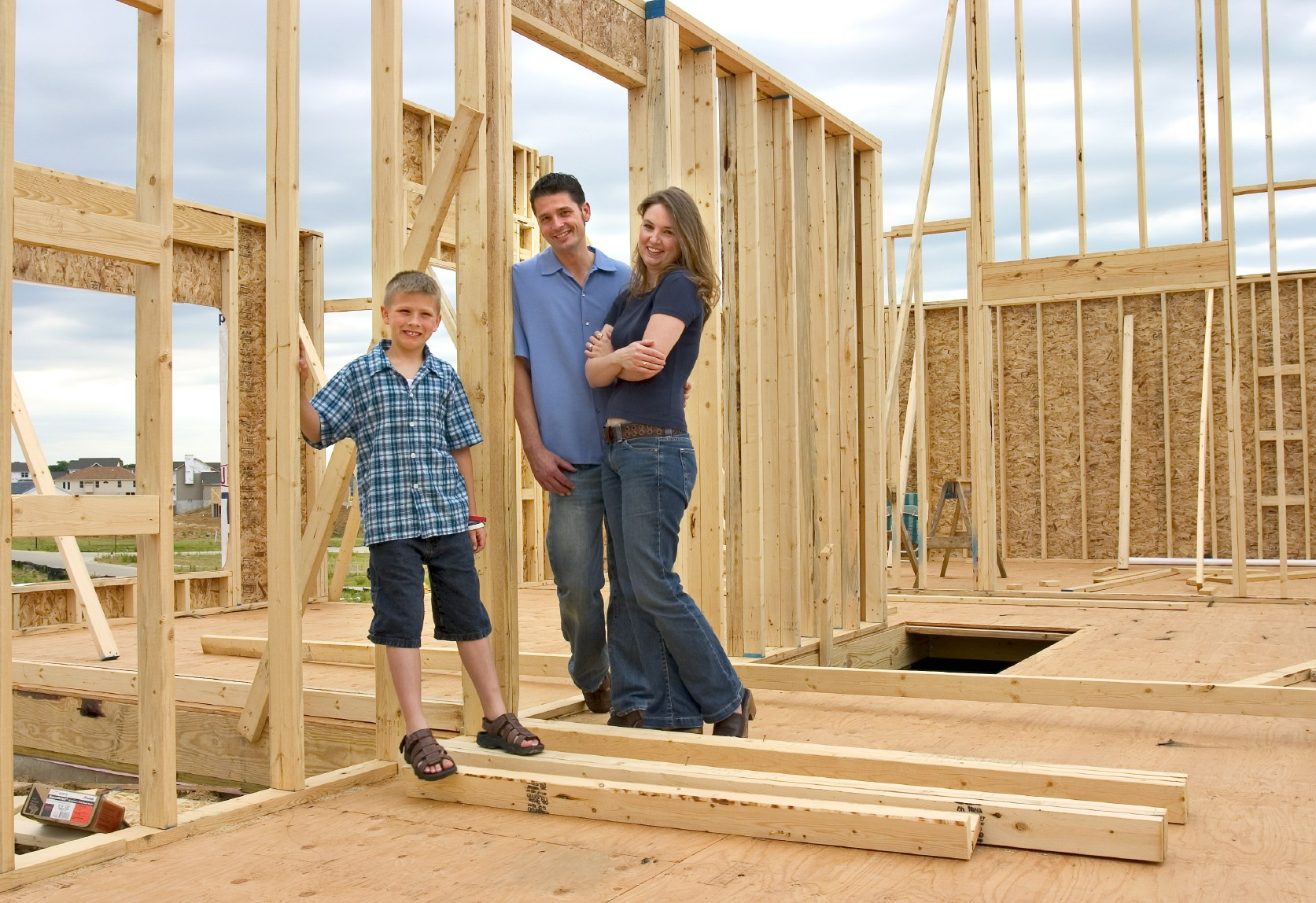 how to build a new home