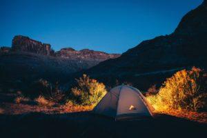 camping in southern utah